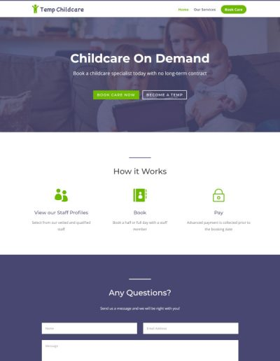 Temp Childcare